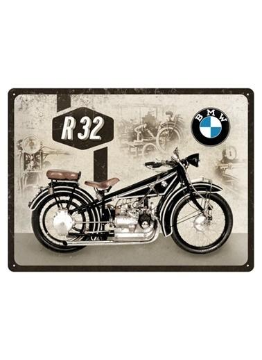Nostalgic Art BMW - Motorcycle R32 Metal Pano Renkli